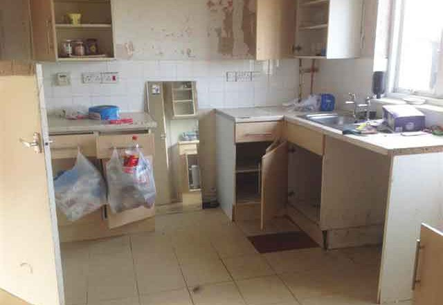 Kitchen house clearance and cleaning