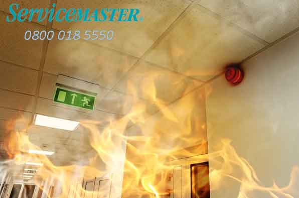 What to do after a fire - fire damage help