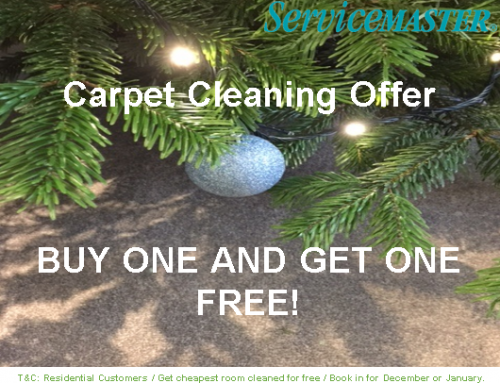 Christmas and New Year Carpet Cleaning Offer
