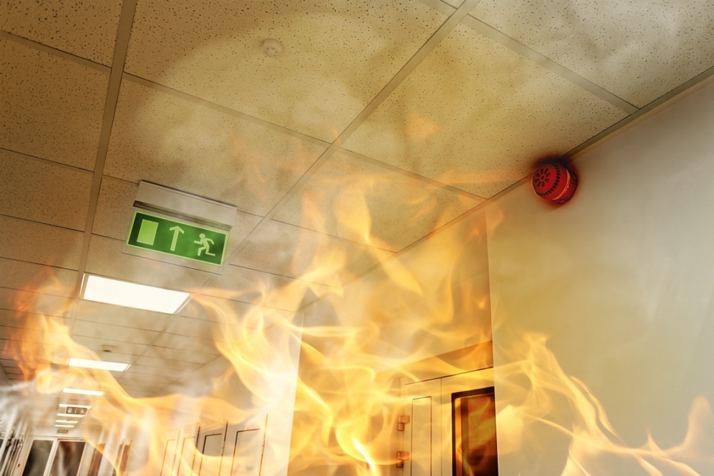 Smoke and fire damage cleaning by ServiceMaster Clean Devon