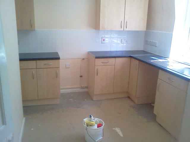 House clearance kitchen cleaned