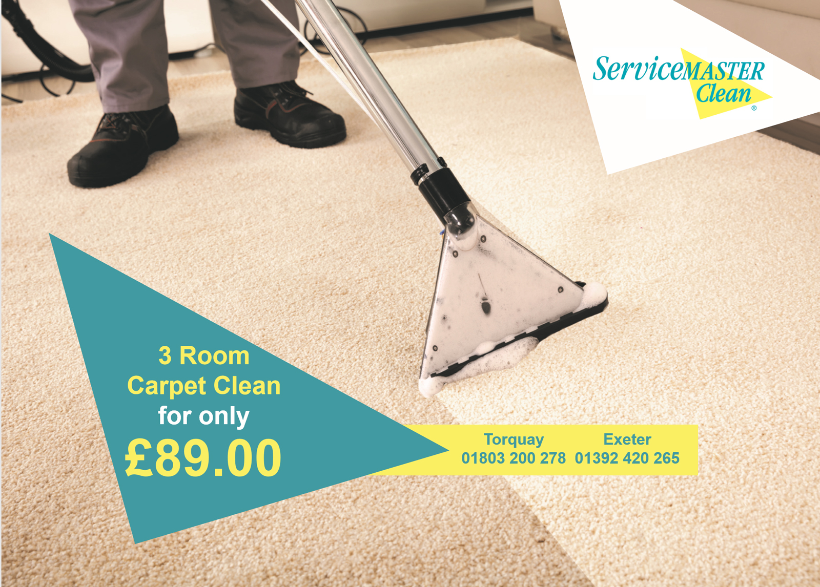 carpet cleaning offer torquay exeter devon christmas claning offer