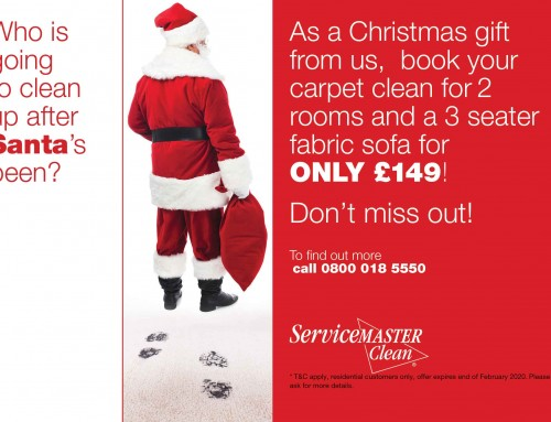 Christmas Carpet & Upholstery Cleaning Offer!